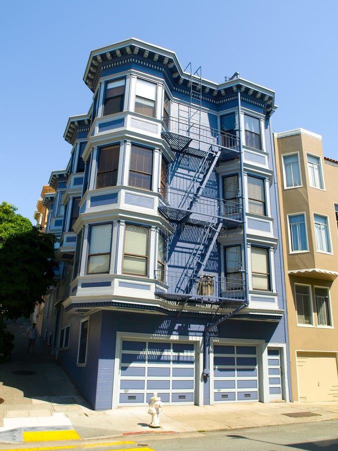 Зодчество Сан-Франциско стоковая фотография rf