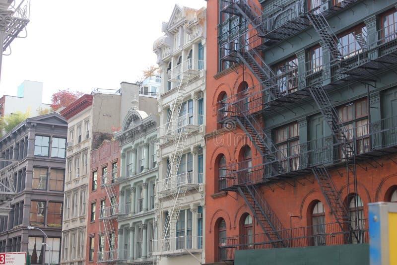 зодчество New York стоковое изображение