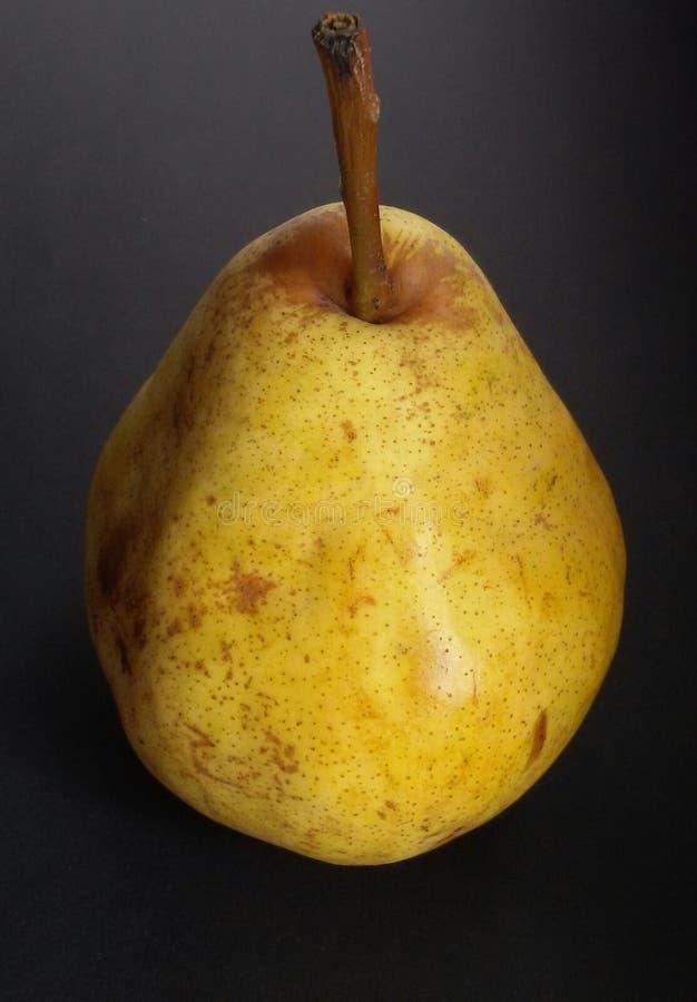 Зрелая желтая груша, натуральные продукты Свежий, мягкий и очень вкусный fruits здорово стоковое фото