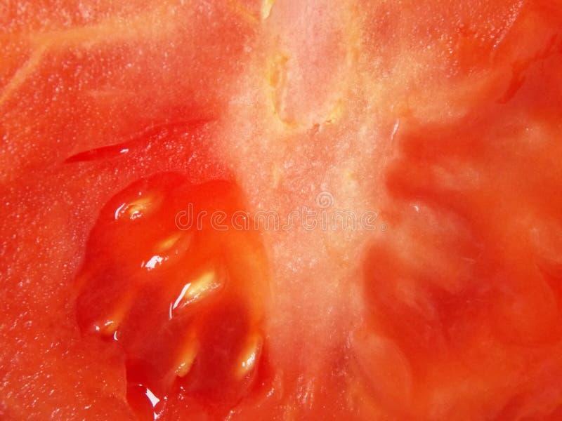 Зрелая плоть томата как предпосылка стоковое фото rf