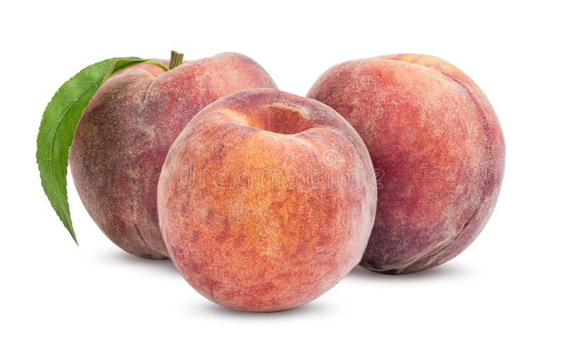 Зрелый персик 3 стоковые фото