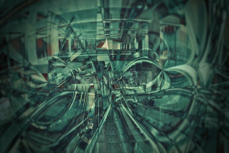 зрение матрицы стоковое фото