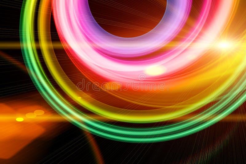 Зрение радуги иллюстрация вектора