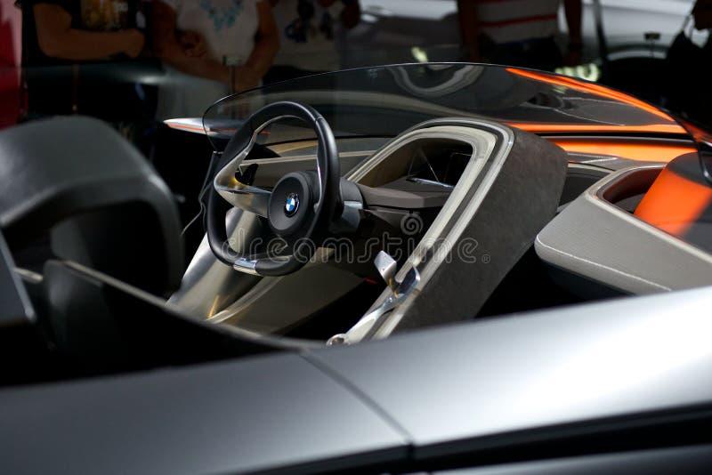 Зрение EfficientDynamics BMW стоковые фото
