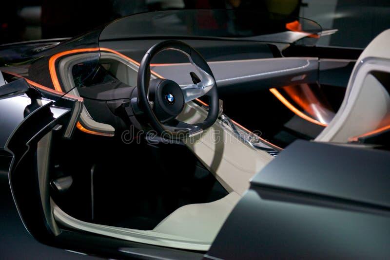 Зрение EfficientDynamics BMW стоковая фотография