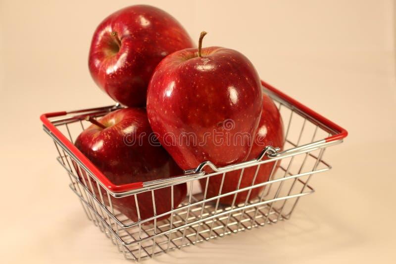 зрелое яблок красное стоковые фотографии rf