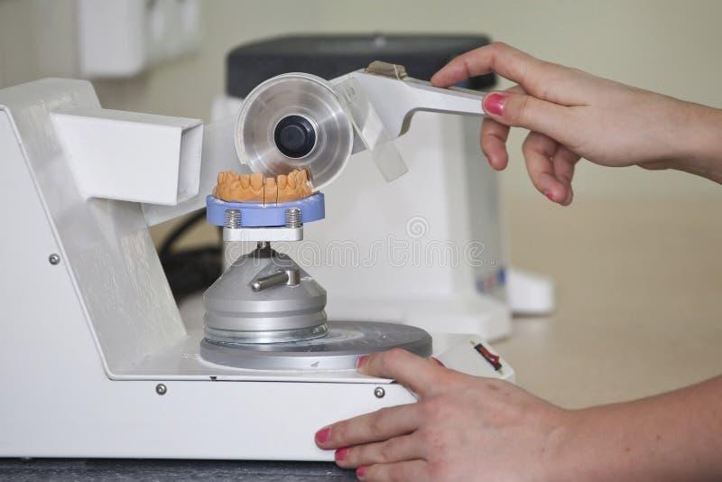 Зубоврачебная лаборатория стоковые изображения