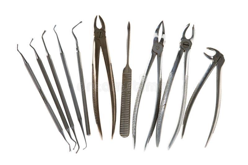 зубоврачебные инструменты стоковые фото