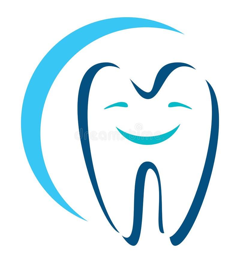 Зубоврачебный значок иллюстрация штока
