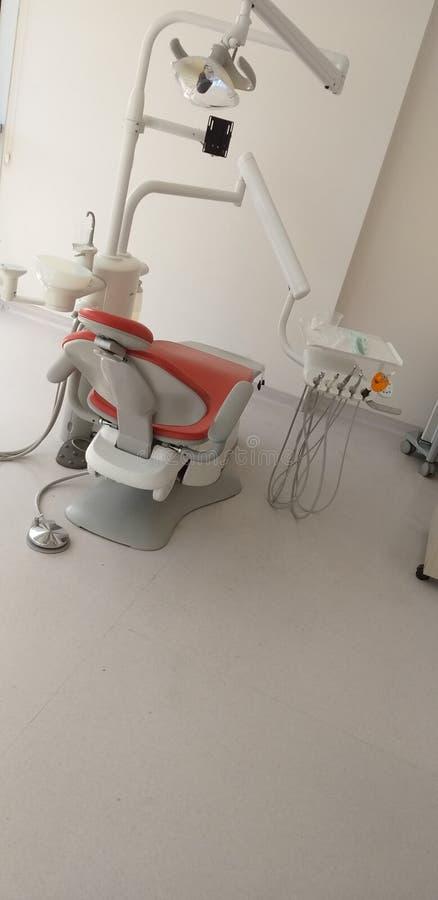 зубоврачебный стул стоковые изображения