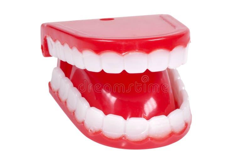 зубы новизны стоковые фото