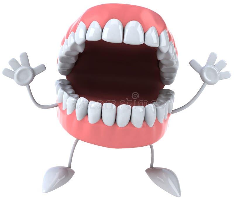 зубы потехи бесплатная иллюстрация