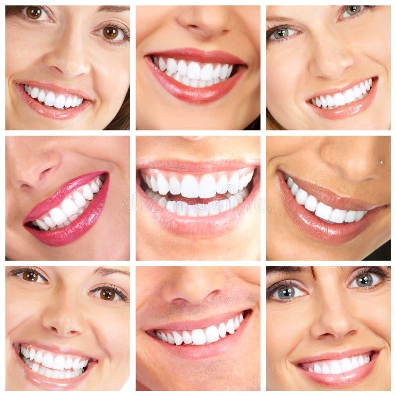 зубы усмешки стоковые фотографии rf