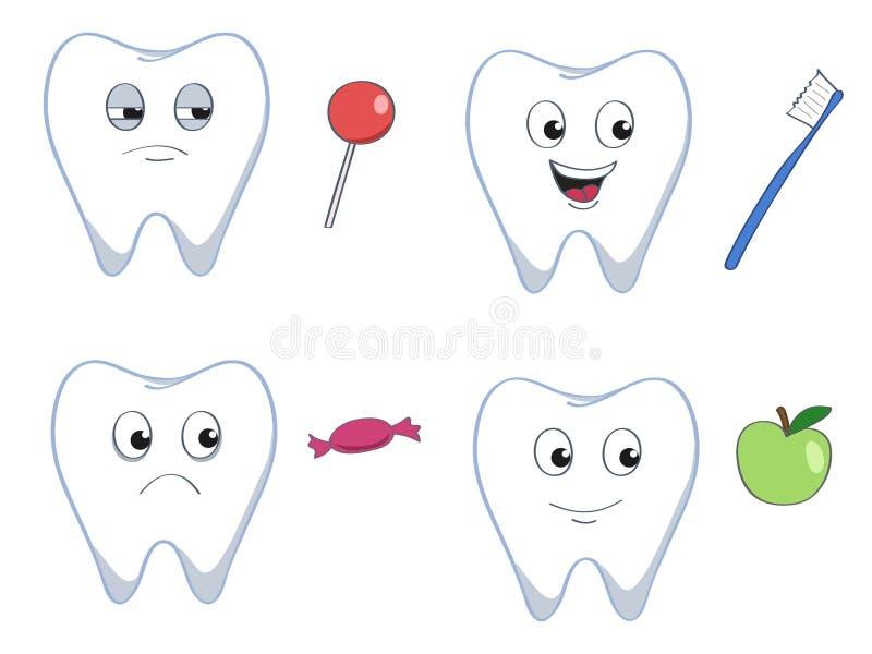 Зубы бесплатная иллюстрация