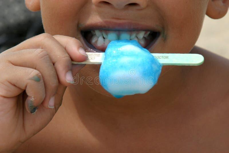 зубы popsicle стоковая фотография rf