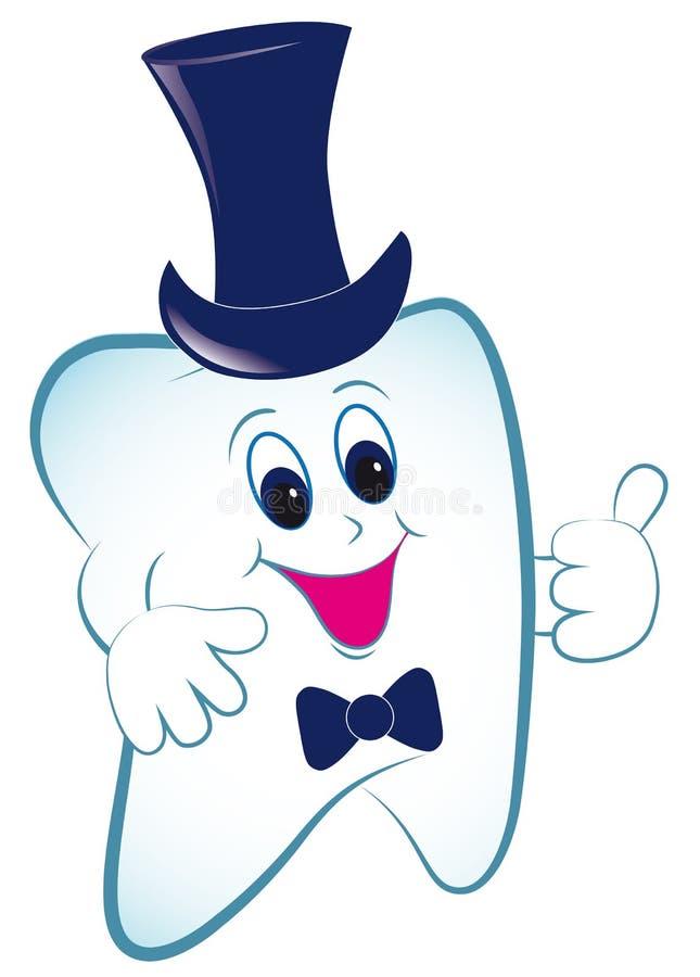 зуб большого пальца руки шлема шаржа бесплатная иллюстрация