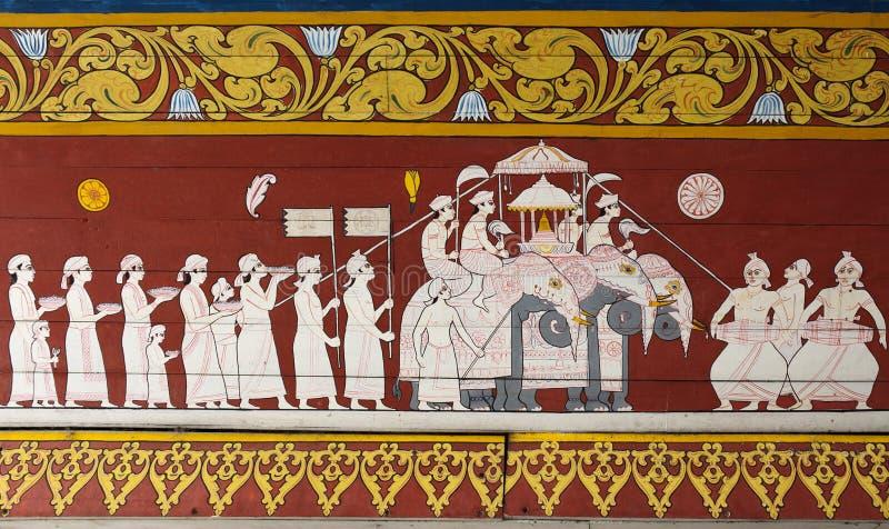зуб виска реликвии украшения священнейший стоковая фотография rf