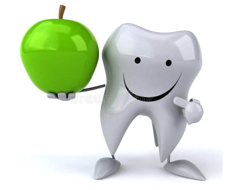 Зуб потехи иллюстрация вектора