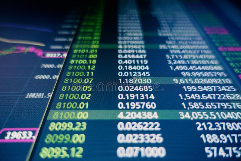 Зыбкость фондовой биржи стоковые фото