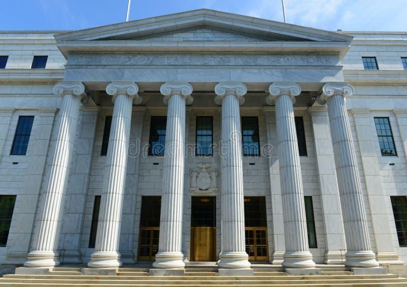 Здание апелляционного суда Нью-Йорка, Albany, NY, США стоковое изображение rf