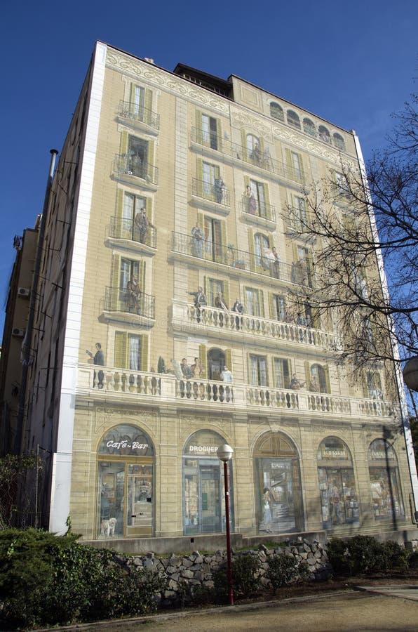 Здание Барселоны стоковые изображения