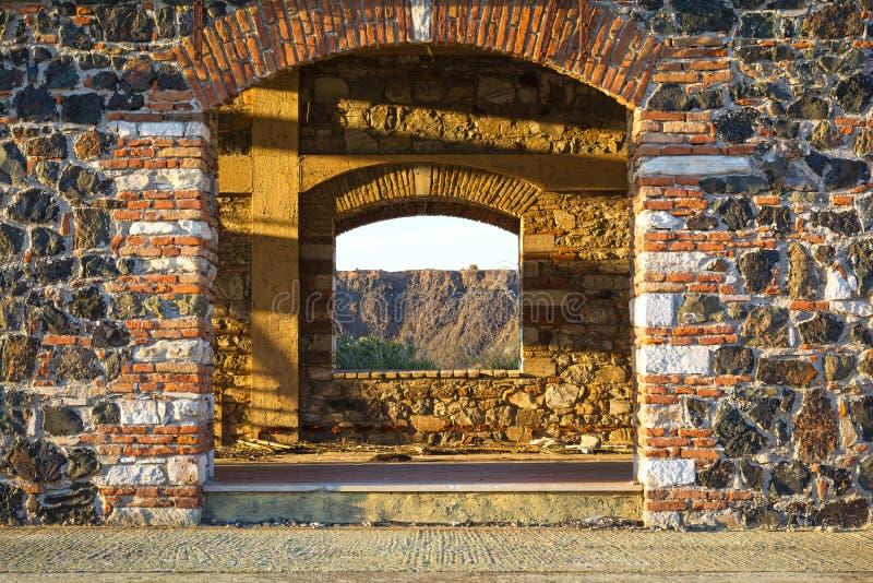 Здание блока минирования стоковое фото rf