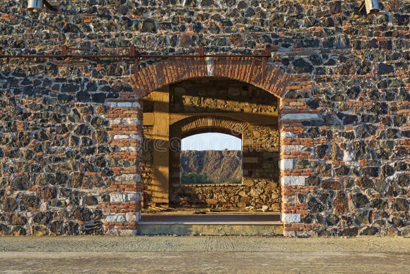Здание блока минирования стоковые изображения