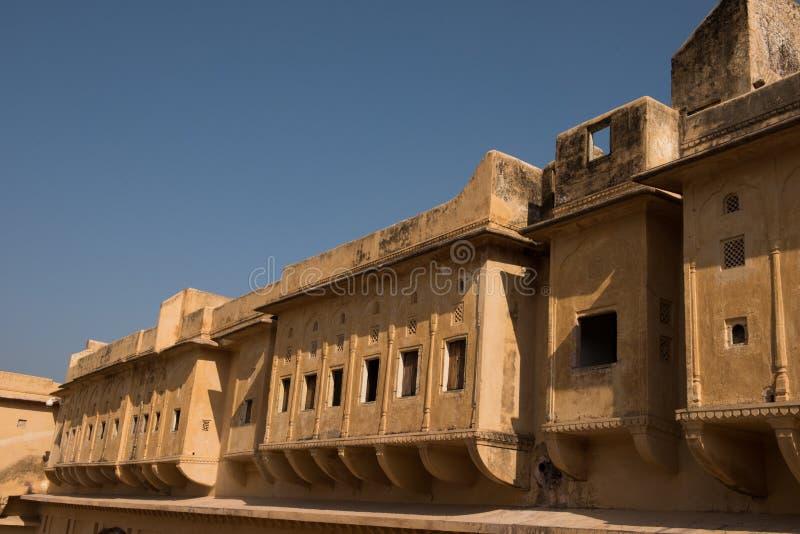 Здание в комплексе форта Amer стоковая фотография rf