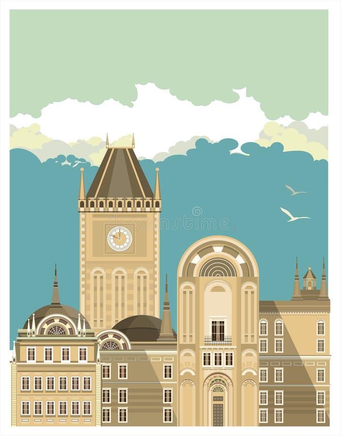 Здание города бесплатная иллюстрация