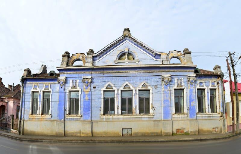 Здание города Lipova стоковое изображение