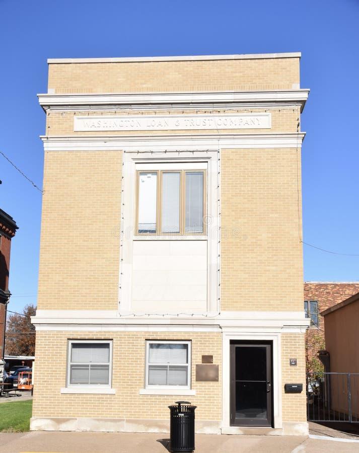 Здание займа и треста стоковая фотография rf