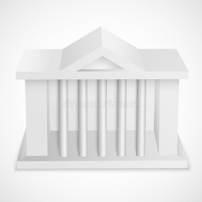 Download Здание значка банка иллюстрация вектора. иллюстрации насчитывающей сеть - 40586079
