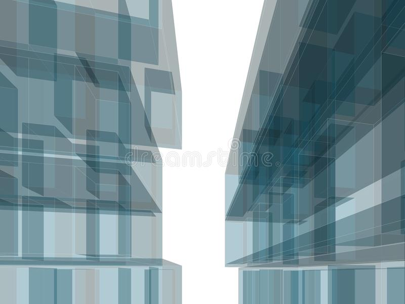 Здание зодчества стоковые изображения rf