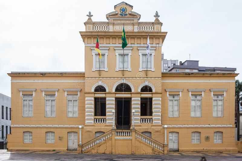 Здание здание муниципалитета в городе бенто Goncalves - RS - Бразилия стоковые фотографии rf