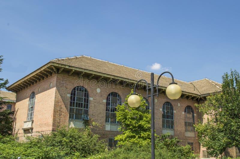 Здание кампуса стоковое фото rf