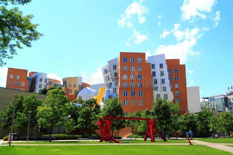 Здание кампуса MIT стоковое изображение rf