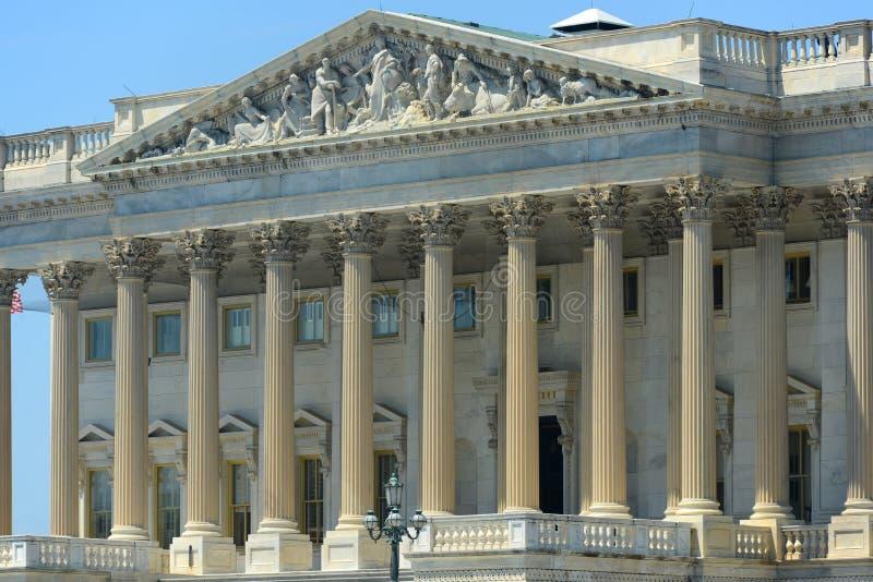 Здание капитолия Соединенных Штатов, DC Вашингтона, США стоковое фото