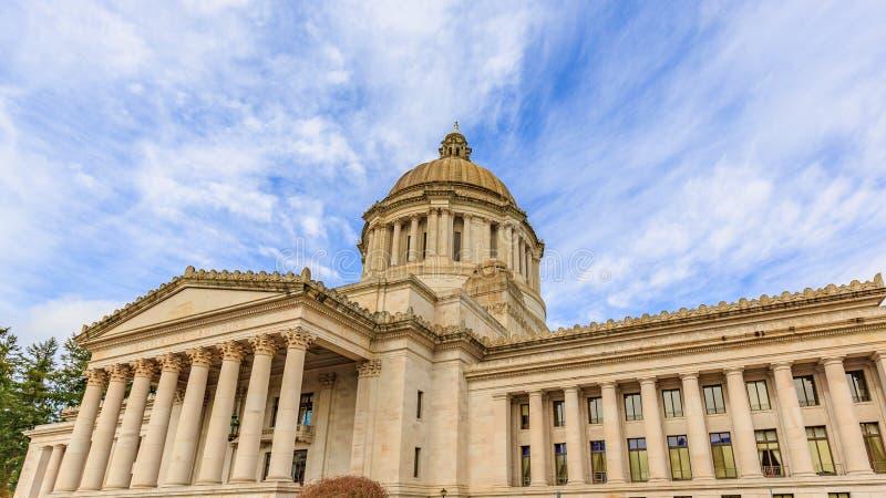 Здание капитолия штата Вашингтона стоковые изображения