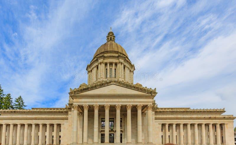 Здание капитолия штата Вашингтона стоковая фотография