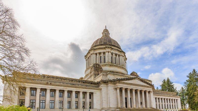 Здание капитолия штата Вашингтона стоковые фотографии rf