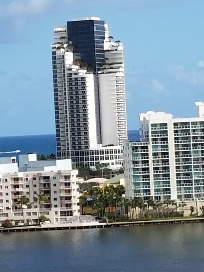Здание Майами стоковое изображение