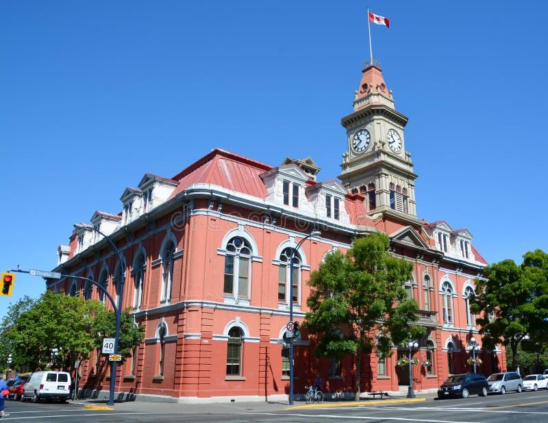 Здание муниципалитет Виктории стоковые фото