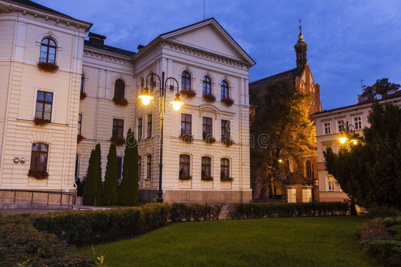 Здание муниципалитет в Bydgoszcz стоковое фото rf