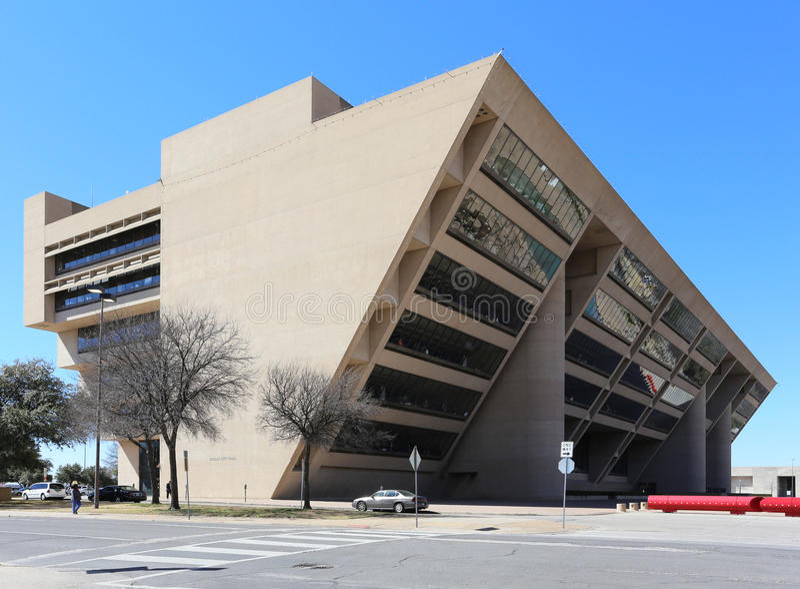 Здание муниципалитет Далласа стоковое фото rf
