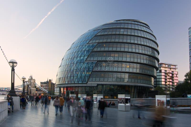 Здание муниципалитет Лондон стоковые фотографии rf