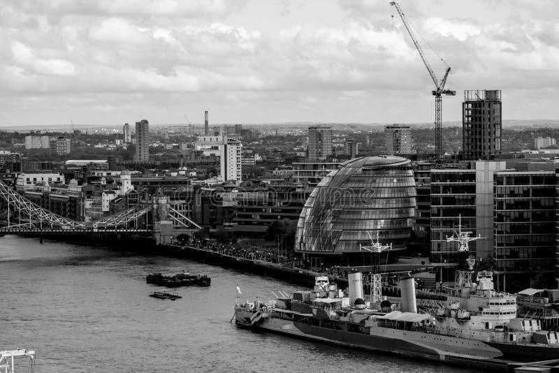 Здание муниципалитет Лондон стоковые фото