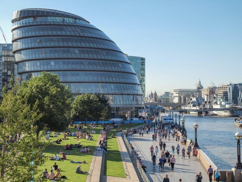 Здание муниципалитет Лондон GLA стоковое фото