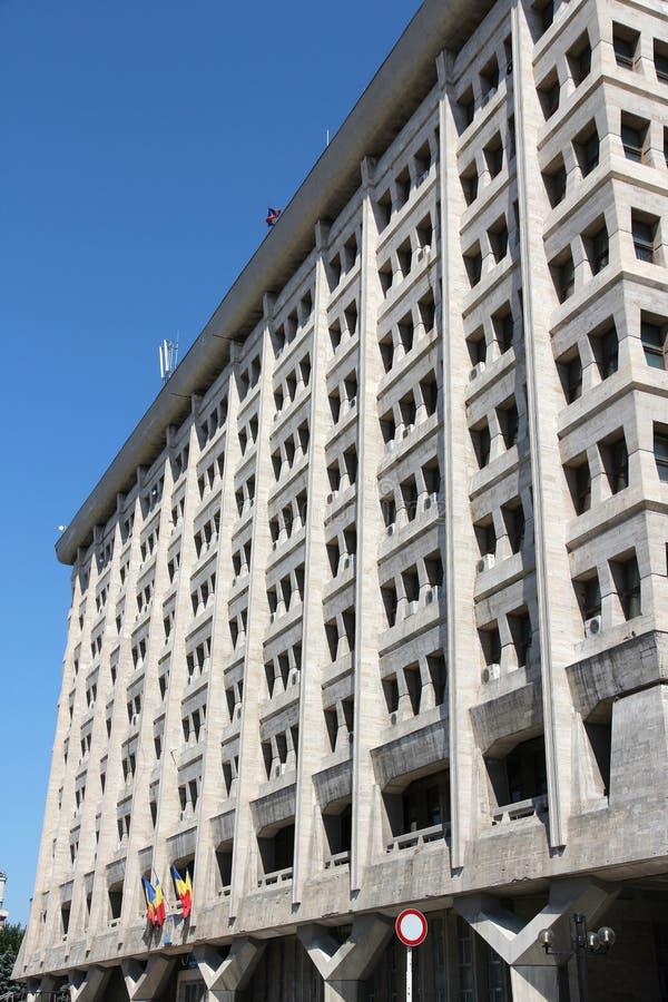 Здание муниципалитет, Плоешти стоковое изображение