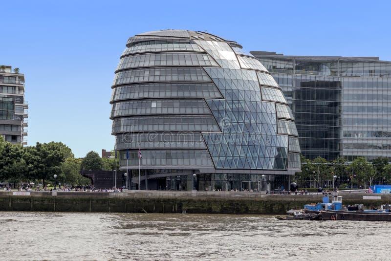 Здание муниципалитет, штабы власти Большого Лондона стоковое фото