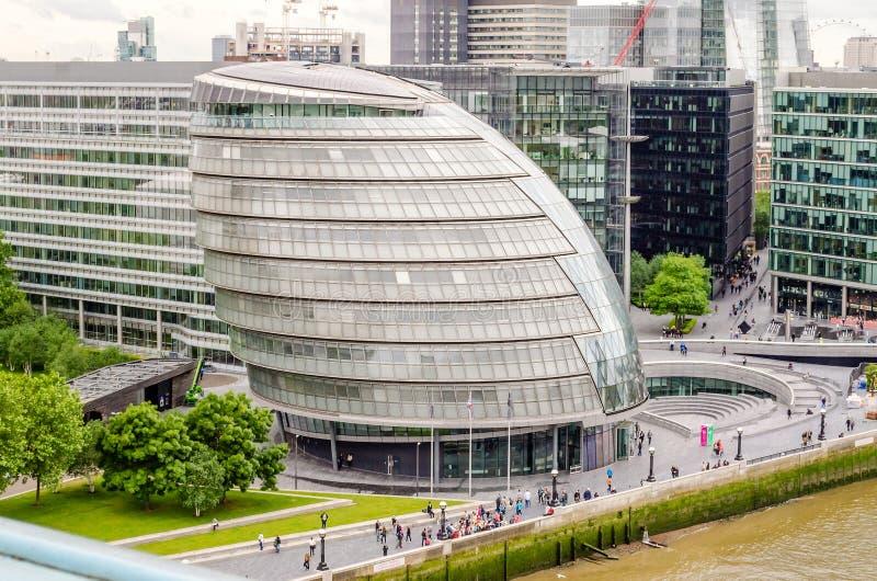 здание муниципалитет london стоковая фотография